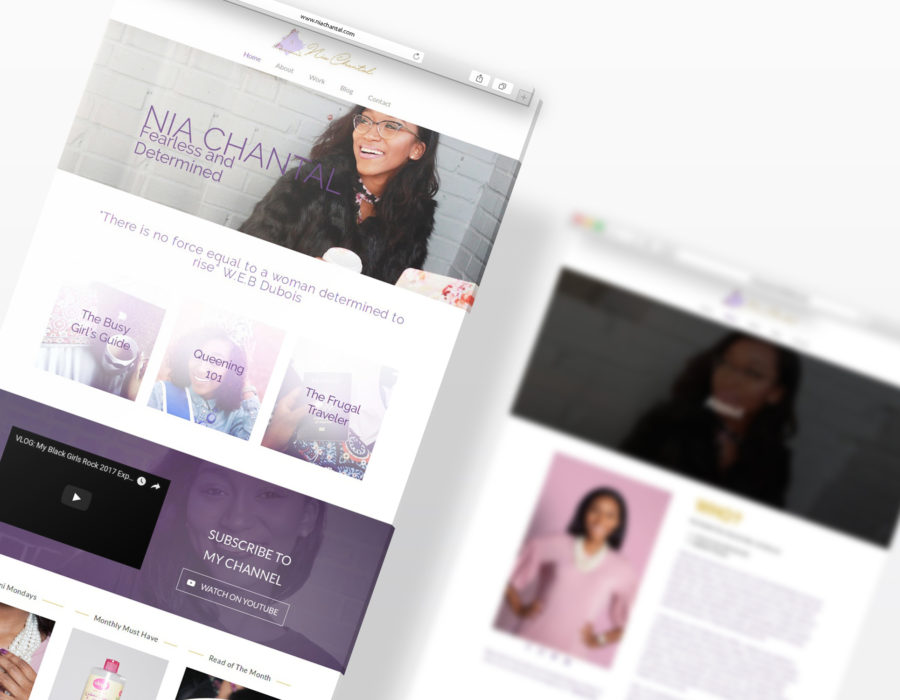 Nia Chantal – The Fearless Millennial