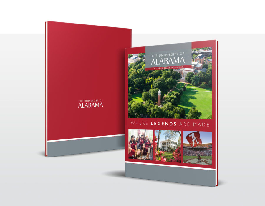 University of Alabama Sample Book