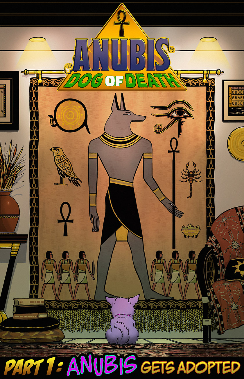 Anubis: Dog of Death - Part One, Cover