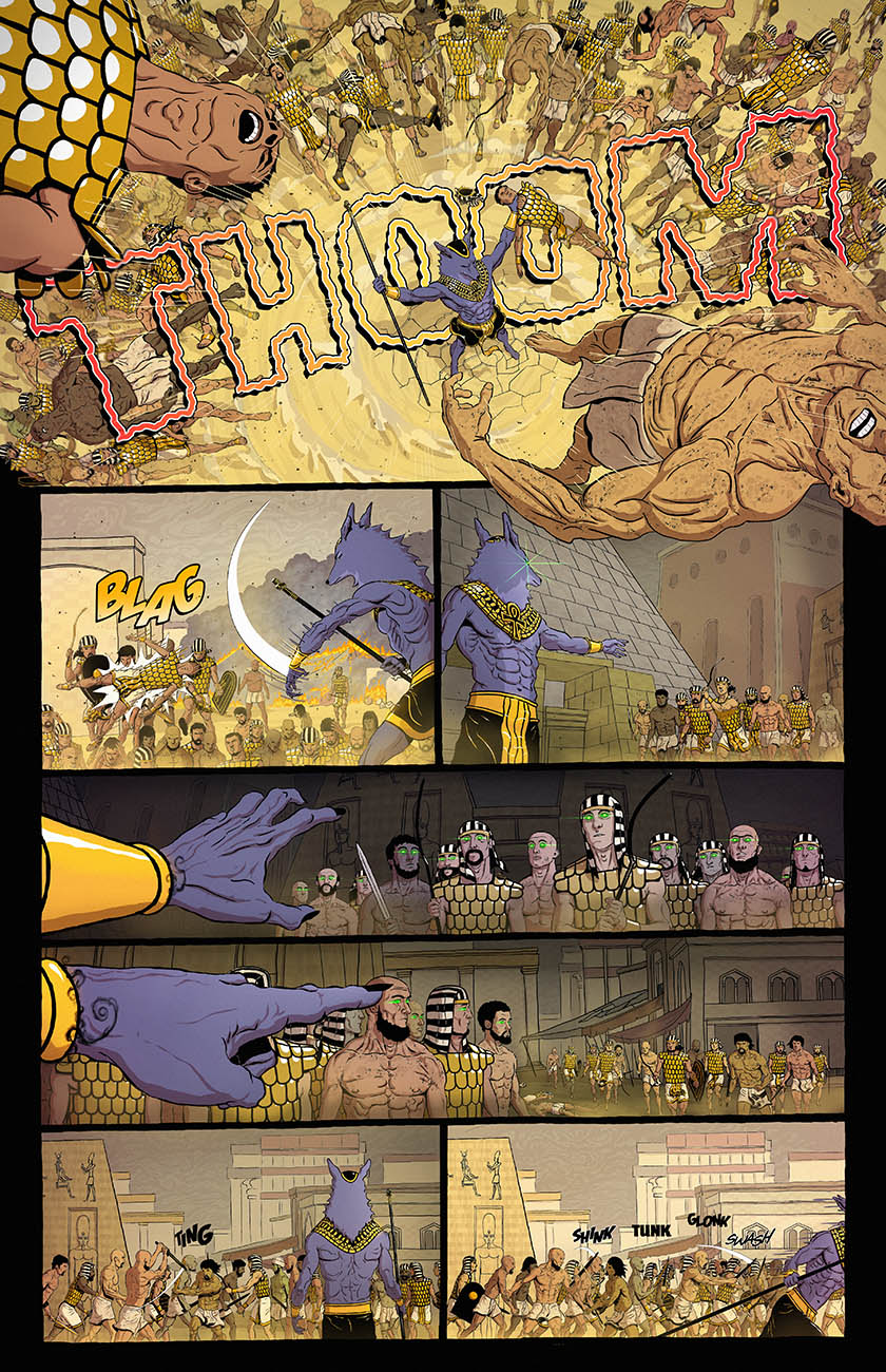 Anubis: Dog of Death - Part One Page 4