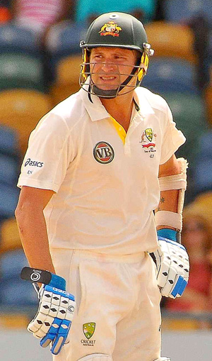 Ryan Harris is one of the former Australian player who will attend the study. Photo by Nick Reid