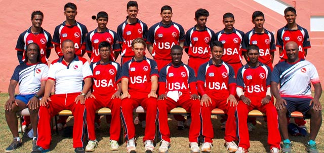 USA is one of the team vying for a spot for the ICC U19 Cricket World Cup 2016.