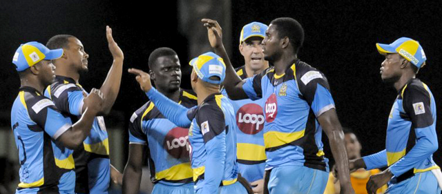 St. Lucia Zouks team. Photo courtesy of CPLt20.com