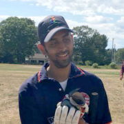 Rajagopalan's Maiden Ton Steers CCC-A to 25 Run Victory over Boston CC