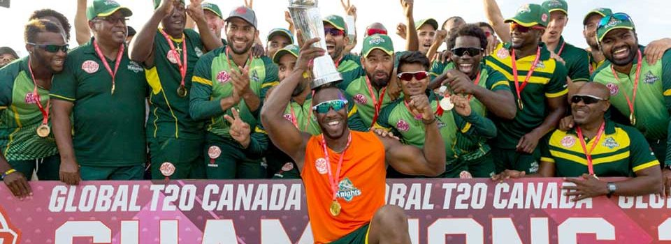 Marquee Players Announced For Global T20 Canada
