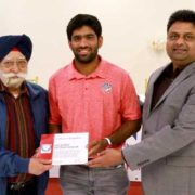 NCCA Recognizes Captain America Saurabh Netravalkar