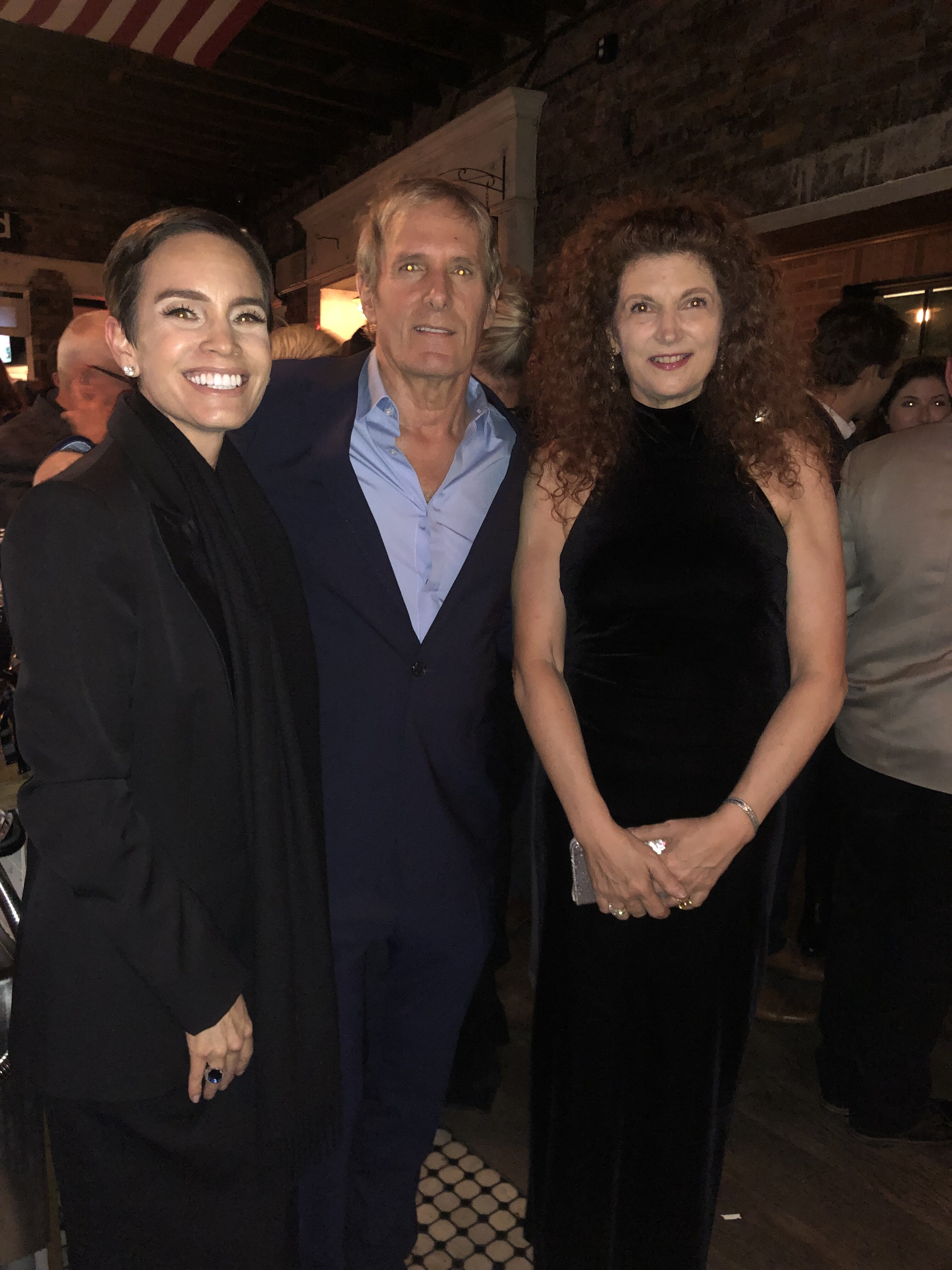 Jale Trepp (Producer), Michael Bolton, Tawni O'Dell; Photo Credit: Janie Willison