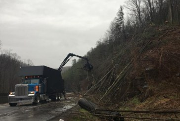 Slide Closes I-40 Near State Line