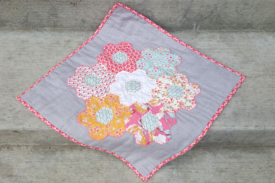 English Paper Piecing – February's Try Something New Every Month Project