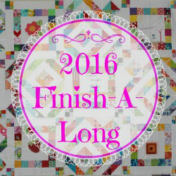 2016 Quarter Four Finish-A-Long Projects