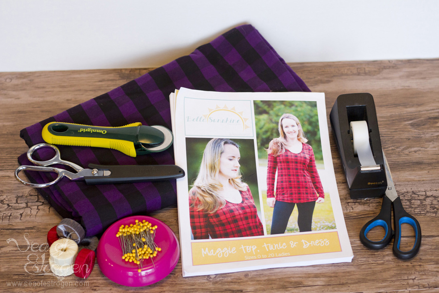 Sewing Pattern Testers BSD Maggie Sew-A-Long