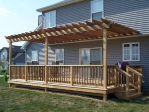 deck, lattice, outdoor space, budget, before, after, method39, spending, planning, upgrades, spend what you make, financial peace