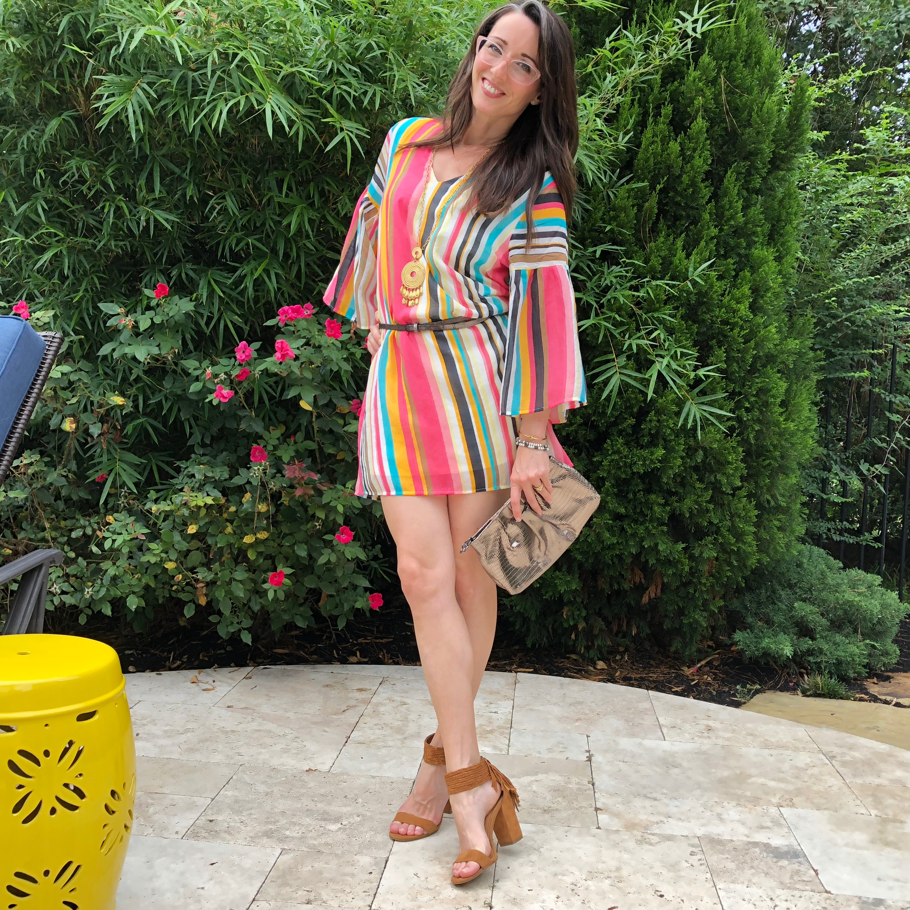 striped, dress, summer, style, colorful, versatile, method39, wear it, branch boutique, day to night, find your style