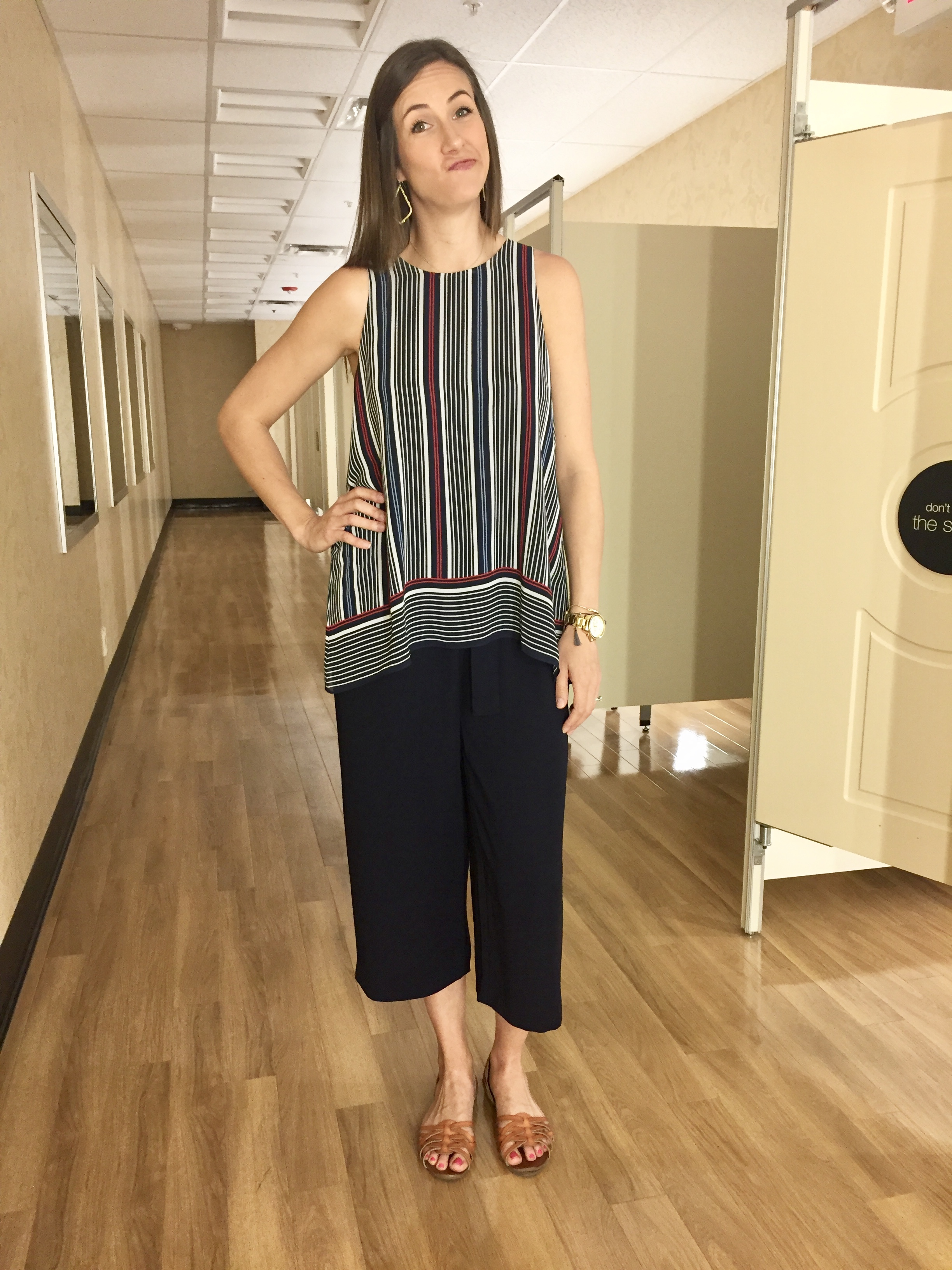 before, striped tank top, style session, needs work, method39, style advice, wardrobe stylist