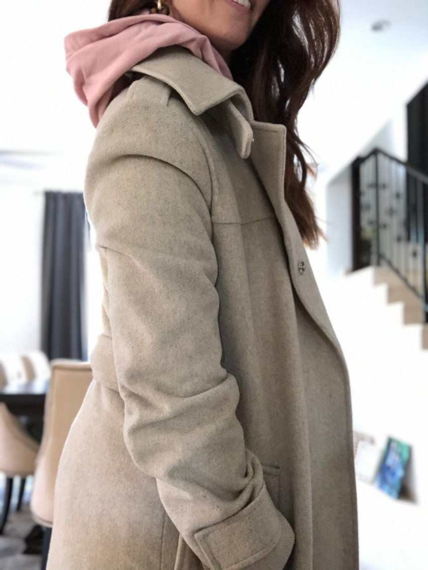 fall, layer, trenchcoat, neutrals, waistcoat, tie, method39, styleadvisor, find your style, fall 2019
