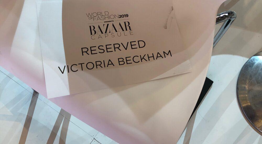 Harpers Bazaar Arabia World Of Fashion – Victoria Beckham