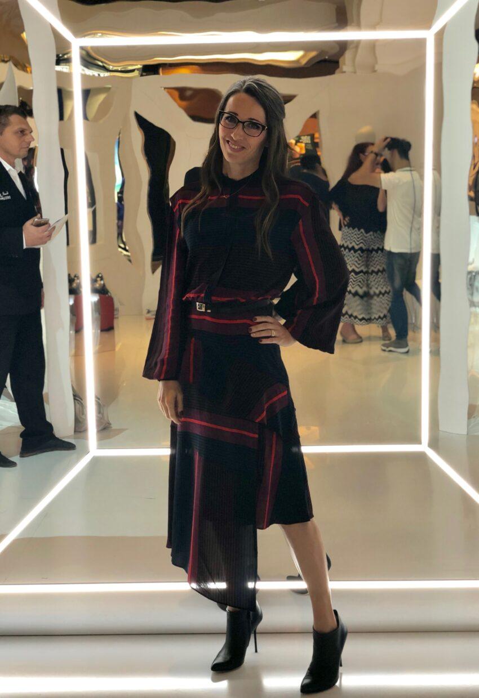joie, dress, world of fashion, Dubai, bazaar capsule, harpers bazzar, victoria beckham, style, interview, events, method39, my style