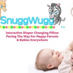 Huggies Mom Inspired Grant Winner SnuggWugg Diaper Changing Pillow