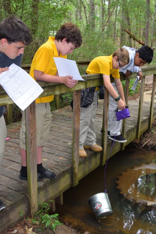SMS students, teachers certified to test local waters