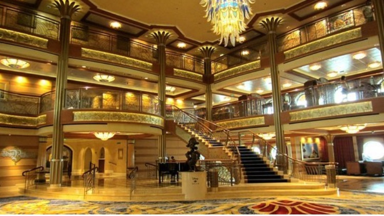 Atrium of the Disney Dream