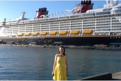 The Disney Dream cruise ship