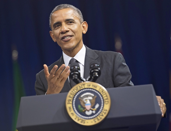 PRESIDENT OBAMA ATTENDSTHE SUMMIT OF THE WASHINGTON FELLOWSHIP FOR YOUNG AFRICAN LEADERS IN WASHINGTON, D.C.