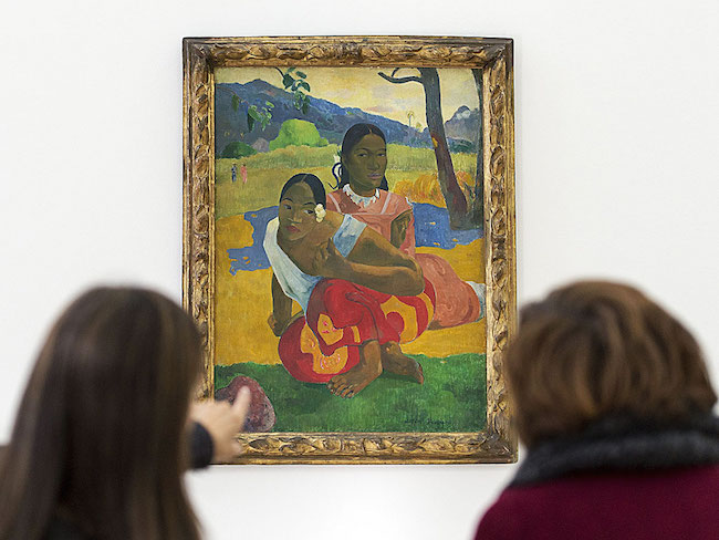 Gauguin painting that recently sold for a record of nearly $300 Million