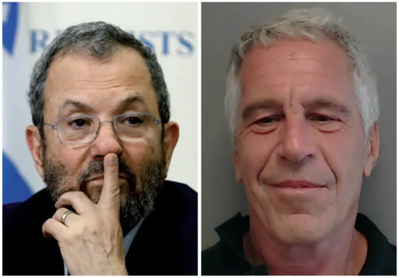 Photos Turn Up of Former Israeli PM Ehud Barak Entering Epstein Passion Pit Same Day as Young Beauties
