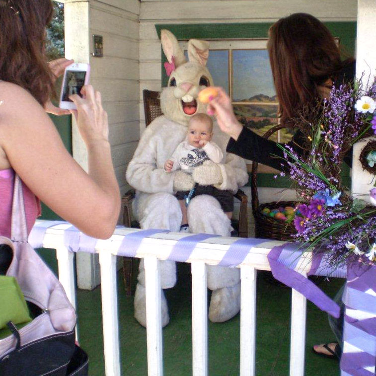Hop To It Easter Bunny