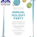 ASPA South Chapter 2016 Annual Holiday Party