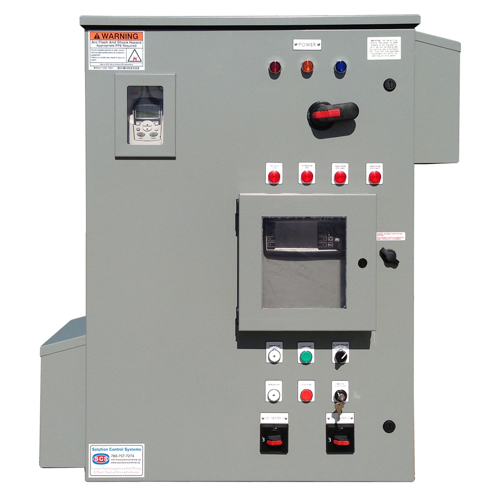 Progressive Cavity Pump Panel