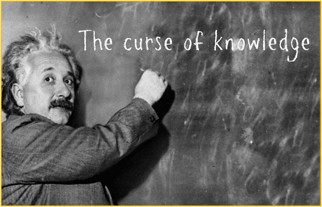 Curse of knowledge 2