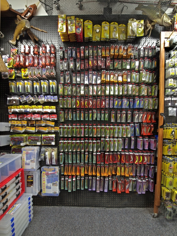 HLS - Store Random Product Pictures - Rapala Wall.