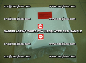 Sandblasting White EVA INTERLAYER FILM sample, EVAVISION (13)