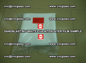 Sandblasting White EVA INTERLAYER FILM sample, EVAVISION (17)