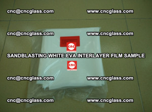 Sandblasting White EVA INTERLAYER FILM sample, EVAVISION (21)