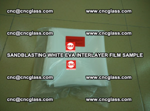 Sandblasting White EVA INTERLAYER FILM sample, EVAVISION (23)