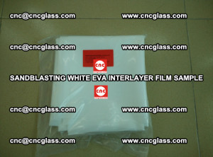 Sandblasting White EVA INTERLAYER FILM sample, EVAVISION (27)