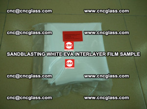 Sandblasting White EVA INTERLAYER FILM sample, EVAVISION (34)