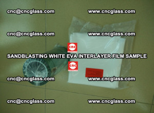 Sandblasting White EVA INTERLAYER FILM sample, EVAVISION (40)
