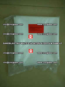 Sandblasting White EVA INTERLAYER FILM sample, EVAVISION (6)