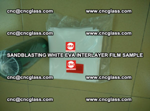 Sandblasting White EVA INTERLAYER FILM sample, EVAVISION (60)