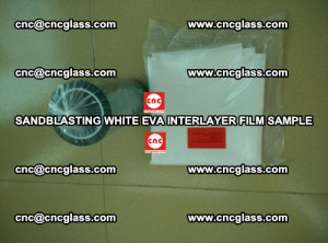 Sandblasting White EVA INTERLAYER FILM sample, EVAVISION (65)
