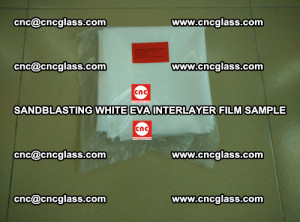 Sandblasting White EVA INTERLAYER FILM sample, EVAVISION (9)
