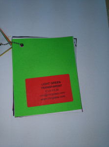 Light Green EVAVISION transparent EVA interlayer film for laminated safety glass (1)