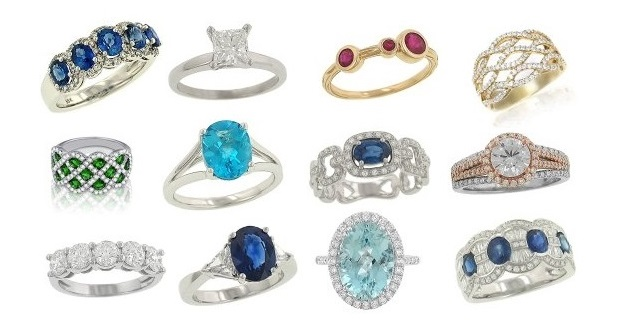 Gorgeous Gemstone and Diamond Rings