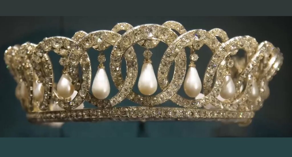 The Grand Duchess Vladimir Tiara
