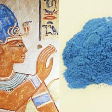 Egyptian Blue – The Oldest Known Artificial Pigment.
