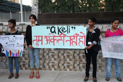 Akeli Protest: Candles in the wind?