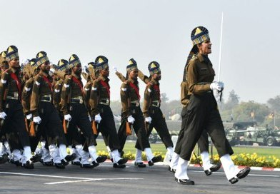Women Power at Republic Day parade